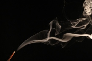incense stick smoke