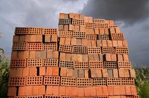 stack of bricks tower